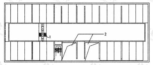 图3.4.2-2 多层横置式布置