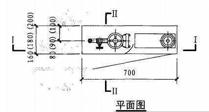 薄型单栓带消防软管卷盘消火栓箱(平面图)