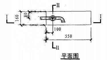轻便消防水龙柜(二)(平面图)