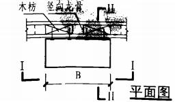 明装消火栓箱轻钢龙骨石膏板墙上安装固定图(平面图)