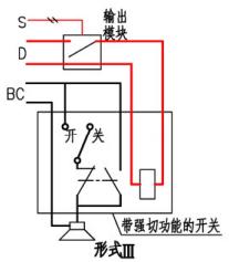 末端强制切换示意图(形式III)