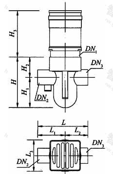 图A.2.6 卫生间异层排水专用同层检修地漏外形