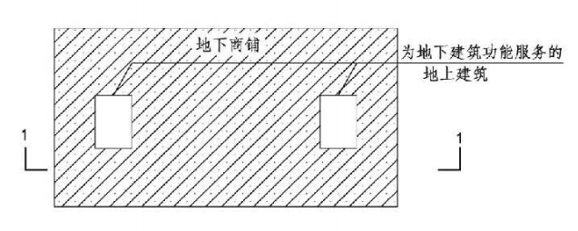 3.5.2图示 地下建筑示意图A