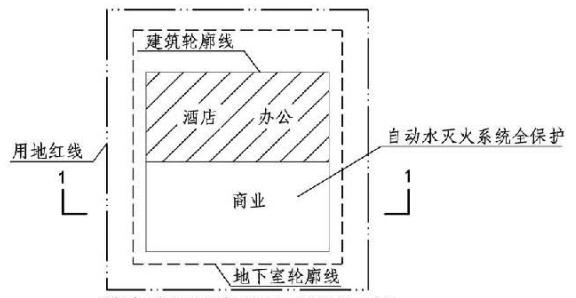 3.5.3图示  消火栓设计流量不可折减示例