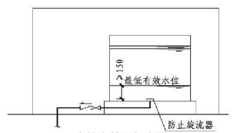 5.2.6图示 高位水箱最低水位设置3