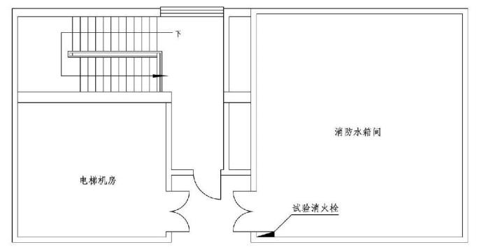 7.4.9图示  试验消火栓布置示意图