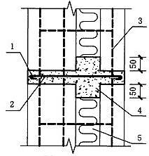 图5.6.4-2 外叶墙参入受力时的加强措施