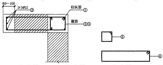 图7.2.3 组合柱加强