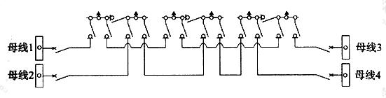 图B.0.1-9 双环网(配电站设分段开关)