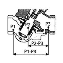 图6.1.3-2 动态压差平衡型电动调节阀作用示意图