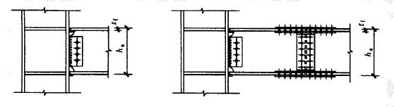 图9.1.5 型钢混凝土内型钢梁与柱连接构造