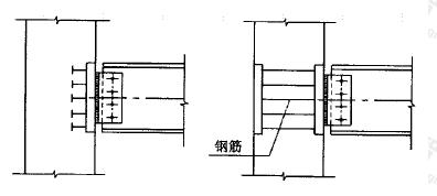 图9.4.1 梁与墙的连接构造