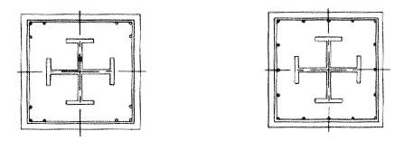 图A.0.1 型钢截面柱截面配筋