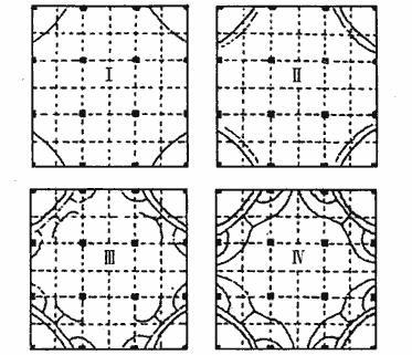 筏板模型试验裂缝发展过程