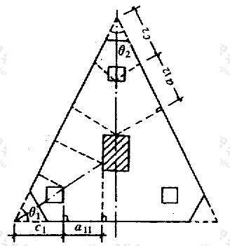 三角形承台角桩冲切验算