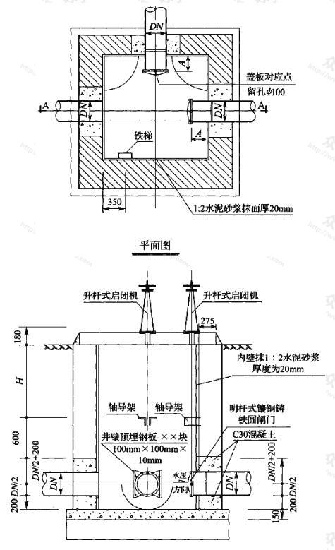 图1 转换井的做法