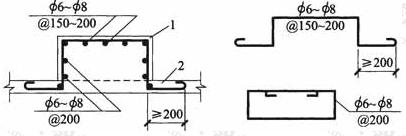 设备基础的构造钢筋配置