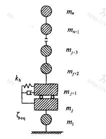 隔震结构计算简图
