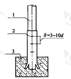 图B.2.1 埋地钢管示意