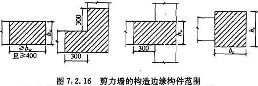 剪力墙的构造边缘构件范围