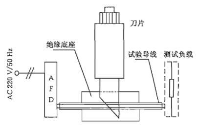 图4 并联金属性接触电弧试验线路示意图