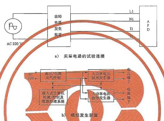 图1故障电弧试验线路示意图