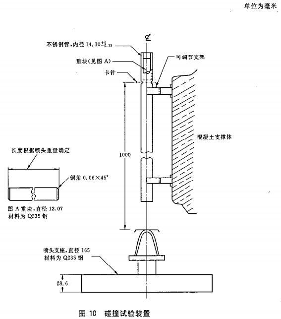 图10 碰撞试验装置