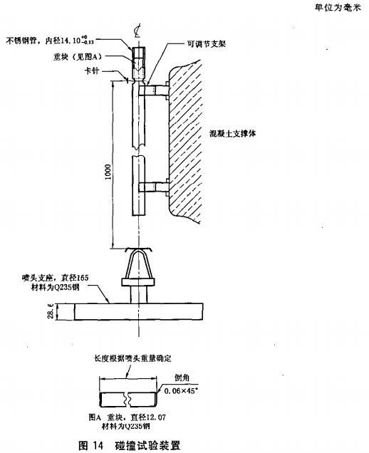 图14 碰撞试验装置
