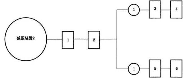 图G.1 减压装置试验程序图