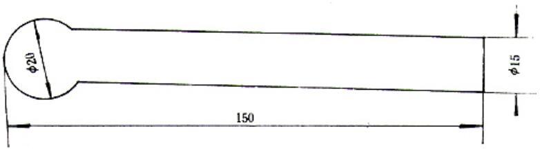图2 手持电极