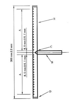 图A.2 水平燃烧器