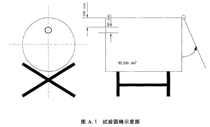 试验圆筒示意图