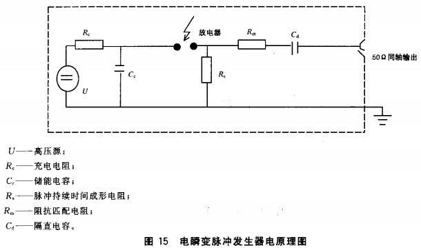图15 电瞬变脉冲发生器电原理图