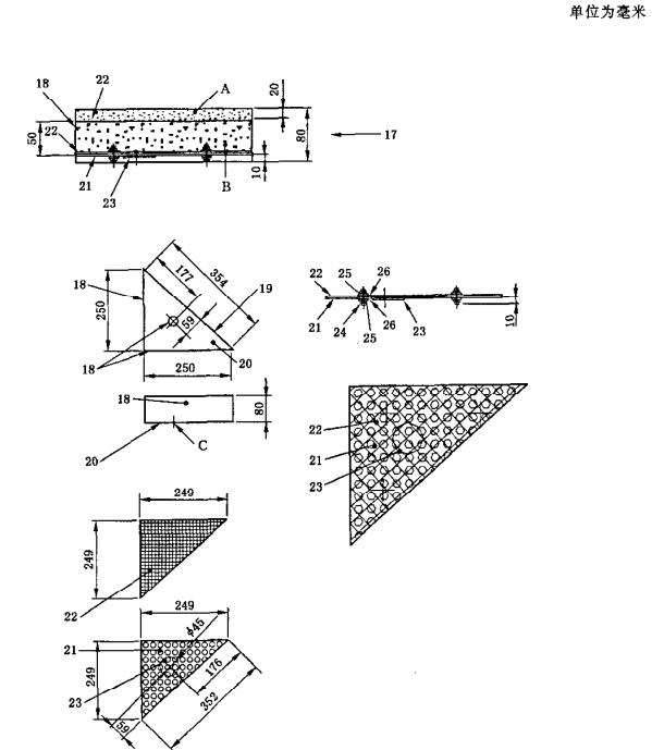 框架-包覆材料-燃烧器