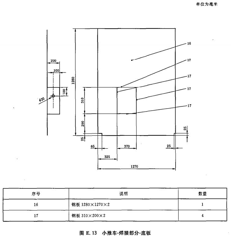 小推车-焊接部分-底板