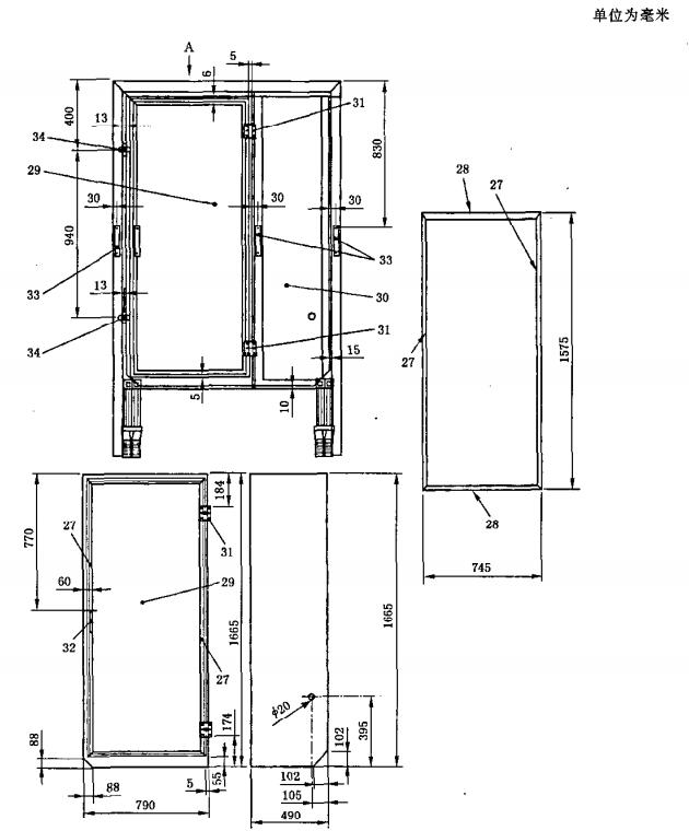 小推车-焊接部分-结构图(d)