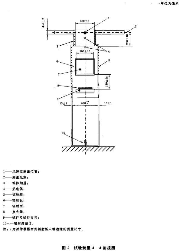 图4 试验装置A—A 剖视图