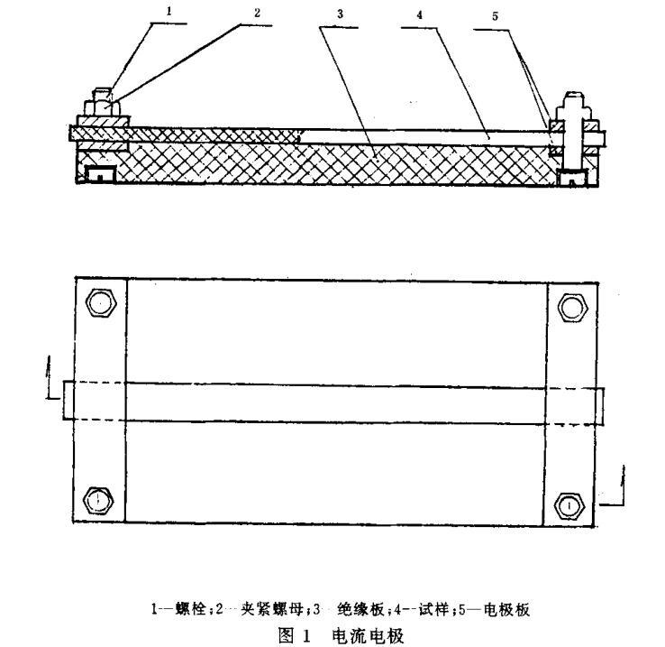图1 电流电极