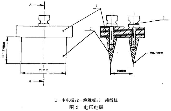 图2 电压电极