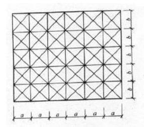 图17 矩形风管测点布置图
